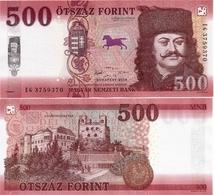 HUNGARY       500 Forint       P-New       2018       UNC - Ungheria