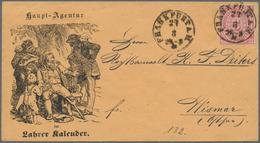 Baden - Besonderheiten: HINKENDER BOTE VON LAHR: Reklameumschlag Mit Vs. Abbildung Des Hinkenden Bot - Baden