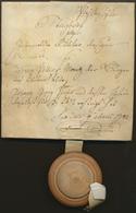 Bayern - Vorphilatelie: 1782, Pfaffenhofen, Steigbrief (= Notarielle Ersteigerungs-Urkunde Für Immob - Duitsland