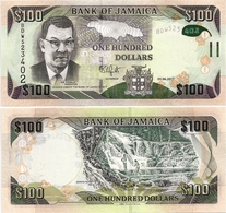 JAMAICA       100 Dollars       P-95[d]       1.6.2017       UNC - Jamaica
