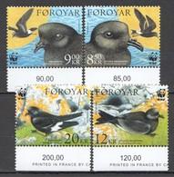 P927 2005 FOROYAR FAROE ISLANDS WWF FAUNA BIRDS MICHEL 13,5 EURO 1SET MNH - W.W.F.