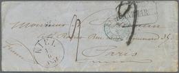 """Schleswig-Holstein - Besonderheiten: 1854, """"KIEL 4.6.1854"""", Schwarzer EKr. Klar Auf Kleinformatigem - Schleswig-Holstein"""