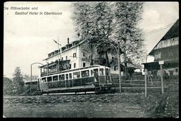 Oberbozen, Rittnerbahn, Rittner Bahn, Vor Gasthof Hofer, Salten Schlern, Amonn L 7877, Schmalspurbahn,Ferrovia Del Renon - Bolzano (Bozen)