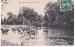 02 Aisne - RIBEMONT -  Gué De L'Oise - Troupeau De Vaches - France