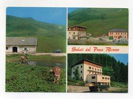 Castello Tesino (Trento)  - Saluti Dal Passo Brocon - Albergo Da Scioppo - Non Viaggiata - (FDC15701) - Trento