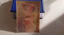 Nu Femme Carte Photo Hologramme - Artistic Nudes (1960-…)