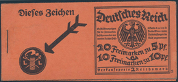 Deutsches Reich - Markenheftchen: 1925, NEUER REICHSADLER, ONr. 2, Komplettes Postfrisches Original- - Deutschland
