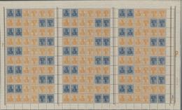 Deutsches Reich - Markenheftchenbogen: 1921. Kompletter MHB Germania 10+30 Pf (für Hbl. 31) Mit Alle - Deutschland