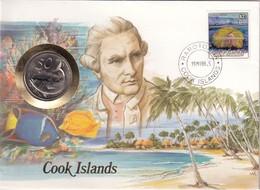 COOK ISLANDS  NUMIS BRIEF  RAROTONG  1987 - Cook