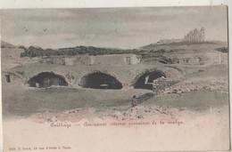 CPA Tunisie. CARTHAGE. Anciennes Citernes Romaines De La Malga - Tunisie