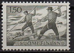 PIA - FINLANDIA - 1974 : Trasporto Del Legname - (Yv 546C) - Finlandia