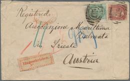 Deutsches Reich - Besonderheiten: 1875, Einschreiben Ab LEADENHALL, Großbritannien, Adressiert Nach - Duitsland