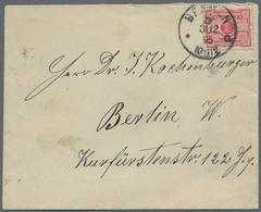 Deutsches Reich - Besonderheiten: 1895, 10 Pfennig Sparmarke Der Sparkasse Bremen, Obernstrasse, Mit - Duitsland
