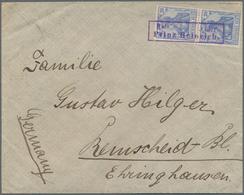 Deutsches Reich - Besonderheiten: 1903, Brief Der 2. Gewichtsstufe Mit Senkrechtem Paar 20 Pfg. Germ - Duitsland