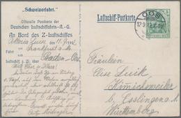 Deutsches Reich - Besonderheiten: 1912, VIKTORIA LUISE- OOS-WEISSENBURG-OOS, Luftschiff-Postkarte Mi - Duitsland