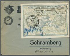 Deutsches Reich - Besonderheiten: 1925, Incoming Mail, Cuba: 35 Pfennig Internationaler Antwortschei - Duitsland