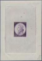 Deutsches Reich - Besonderheiten: 1941, 6 Pfg Mozart, Schwarzviolett, Probedruck In Der Endgültigen - Duitsland