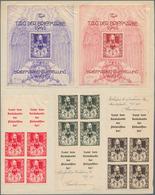 Deutsches Reich - Besonderheiten: 1941, Heinrich V. Stephan, Probedrucke Zum Tag Der Briefmarke Bzw. - Duitsland