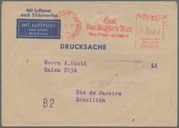 Deutsches Reich - Besonderheiten: 1941 (1.11.), FFM, Frankfurter Illustrierte, Extrem Seltener Freis - Duitsland