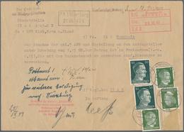 Deutsches Reich - Besonderheiten: 1943, Formular Der Reichsstelle Für Landwirtschaftliche Erzeugniss - Duitsland