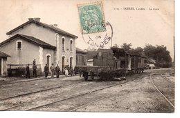 Landes : Sabres : La Gare - Sabres
