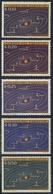 1962 Y&T - Serie 699/703 - Les 5 Waarden/alues/valeurs - Universe Planets Heelhal Planeten Planetes De L'Universe - ** - Paraguay