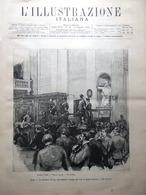 L'Illustrazione Italiana 15 Agosto 1886 Liszt Napoli Bellini Spotorno Sansovino - Ante 1900