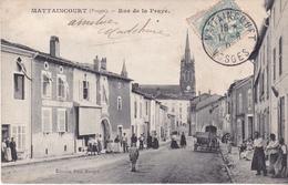AVIT18-  MATTAINCOURT  DANS LES VOSGES  RUE DE LA PRAYE CPA  CIRCULEE - France