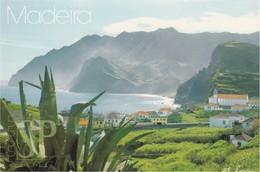 Madeira Porto Da Cruz Small Village North Coast Fotovertag Huber 2002 - Madeira