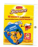 Magnet Savane Brossard Hawai  Theme Girafe - Magnets
