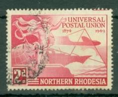 Northern Rhodesia: 1949   U.P.U.  SG50    2d   Used - Rhodésie Du Nord (...-1963)