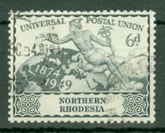 Northern Rhodesia: 1949   U.P.U.  SG52    6d   Used - Rhodésie Du Nord (...-1963)
