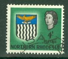 Northern Rhodesia: 1963   QE II - Arms    SG79    4d     Used - Northern Rhodesia (...-1963)