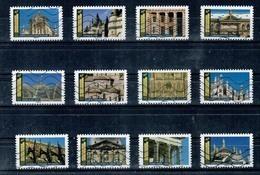 2019 SERIE EGLISE HISTOIRE DE STYLE OBLITEREE COMPLETE - Adhesive Stamps