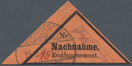 Deutsche Lokalausgaben Ab 1945: GROSSRÄSCHEN, 1945: 15 (Pf) In Roter Tinte Links Unten Statt Oben Mi - Duitsland