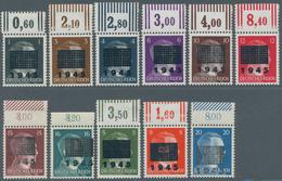 Deutsche Lokalausgaben Ab 1945: NETZSCHKAU-REICHENBACH: 1 Pf - 20 Pf Postfrisch Vom Oberrand, Incl. - Duitsland