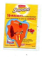 Magnet Savane Brossard  Espagne Theme Girafe - Magnets