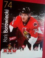 Ottawa Senators Mark Borowiecki - Singles
