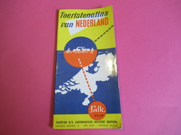 Toeristenatlas Van NEDERLAND / Falk Plan/ Cartografisch Instituut Bootsma/La Hague/HOLLANDE/ Vers 1960   PGC279 - Cartes Routières