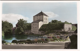 Sweden Card Nyköping, Castle, Hand Colored Unused Card - Svezia