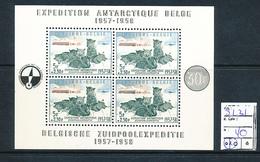 BELGIQUEBELGIUM MS COB BL31 MNH - Blocchi 1924 – 1960