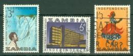 Zambia: 1964   Independence     Used - Zambia (1965-...)