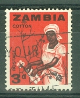 Zambia: 1964   Pictorial    SG97   3d     Used - Zambia (1965-...)