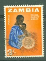 Zambia: 1964   Pictorial    SG103   2/-     Used - Zambia (1965-...)