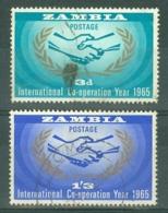 Zambia: 1965   I. C. Y.    Used - Zambia (1965-...)