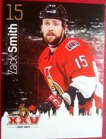 Ottawa Senators Zack Smith - Singles