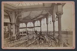Ostende - La Terrasse Du Kursaal - 16,5 X 11 Cm - Vers 1880 - 1900 - - Lieux