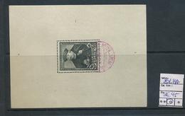 BELGIQUEBELGIUM MS COB BL4A USED - Blocks & Sheetlets 1924-1960