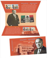 France 2015 - Pochette Emission Commune France - Mexique ** (sous Blister) - Souvenir Blocks & Sheetlets