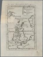 "Landkarten Und Stiche: 1686. ""Anciennes Isles Britanniques"". Lovely Little Map Of The British Isles - Geographie"